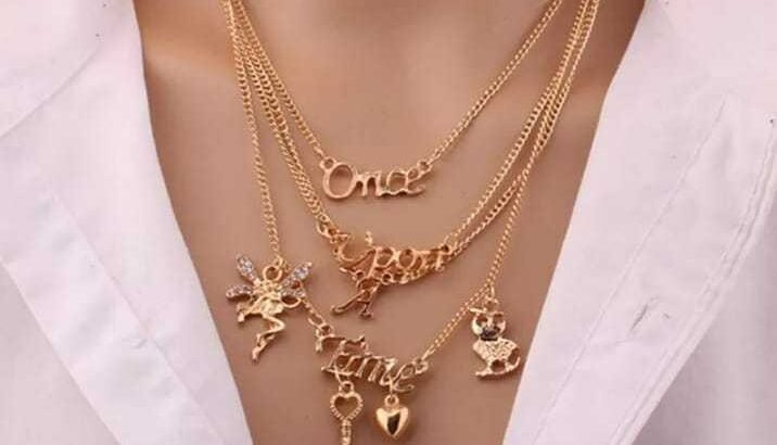 Luxurious necklaces and other jewelries in Owerri