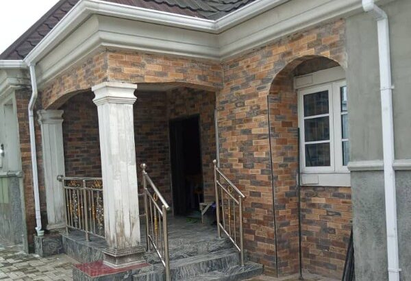 4 bedroom bungalow on 1plot in Rukpokwu for 25m