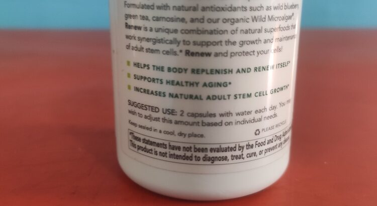 Renew (Stem Cell) New Earth