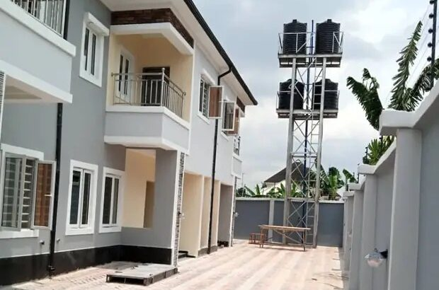 New 4 Units Of 2 Bedroom Terrace Duplex For Sale