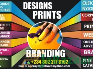 DESIGNS AND PRINTING