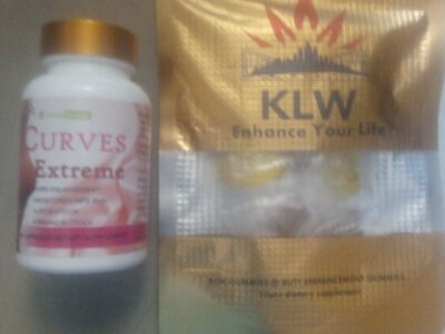 KLW Gummies and Curves Extreme Butt Enlargement