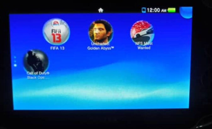 Neatly Used PS VITA for Sale