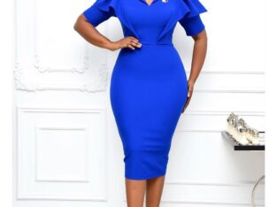 Quality Corporate Gown for Boss Lady