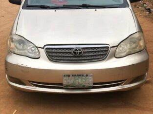 Corolla 2006 Available For Sale. Its Still Firstbody