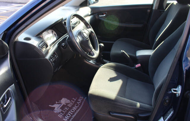 Clean Toyota Corolla sport for sale