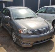 Very clean and neat tokunbo Toyota Corolla for sal