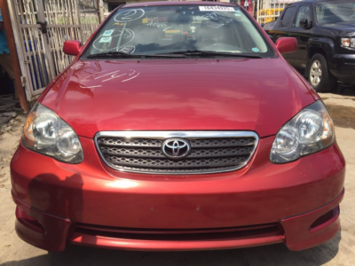 Clean and neat Toyota Corolla spot for sale